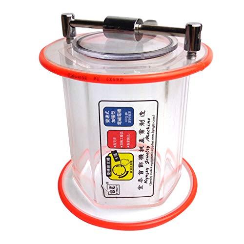 Royalr KT-6808 Trommelpoliermaschine Schleifen Barrel Acryl Tumbler Schmuck Ausrüstung 110V-220V
