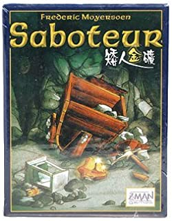 Funny Popular Board Game Set Toy Gift for All Ages - Saboteur Card Game