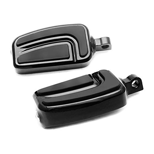 Repose-Pieds FP11 pour Harley Dyna Switchback/Wide Glide, V-Rod Muscle Noir