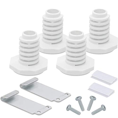 Beaquicy W10869845 Dryer Stacking Kit - Replacement for Whirlpool Standard and Long Vent Dryer & Washer - Replaces W10298318, W10298318RP, W10761316