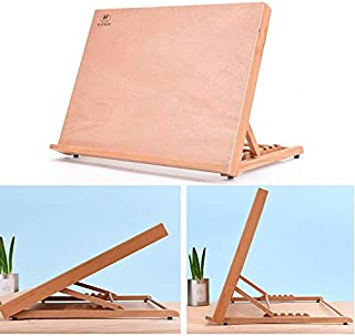 طاولة رسم خشبية للمكتب ورف كتب متنقلة لوازم مدرسية