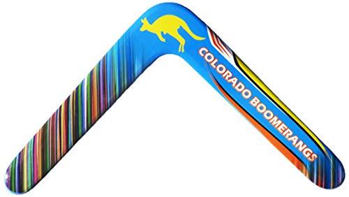 Yogi Boomerang – großer Anfänger-Bumerang für Kinder im Alter von 7 bis 70 Jahren. EIN echter Bumerang!