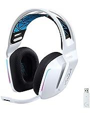 Logicool G ロジクール G G733 LoL K/DA LIGHTSPEED ワイヤレス ゲーミングヘッドセット 7.1ch BLUE VO!CE搭載 マイク付き LIGHTSYNC RGB 278g 軽量 League of Legends 公式 ゲームギア 国内正規品 2年間無償保証 ワンサイズ