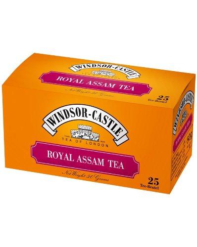 Windsor-Castle Royal Assam Tea, Beutel mit Umhüllung, 25er, 50 g