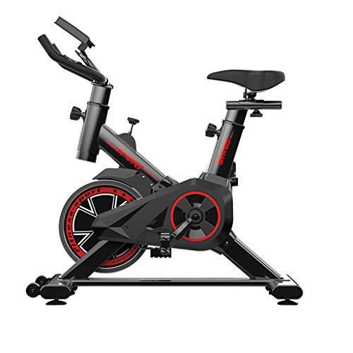 ARTF Bicicletas de hilado, bicicletas de ejercicios ultra tranquilo, juegos de la vida real 4D |Cojines cómodos |Reposabrazos suaves |Soportes multifuncionales, equipos de deportes de bicicleta interi