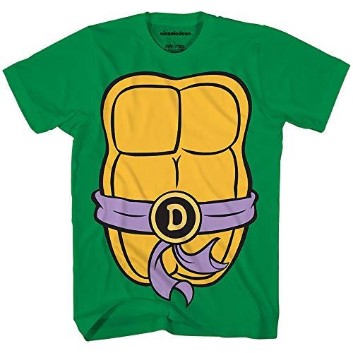 Teenage Mutant Ninja Turtles TMNT Mens Costume T-Shirt(Donatello,Medium)