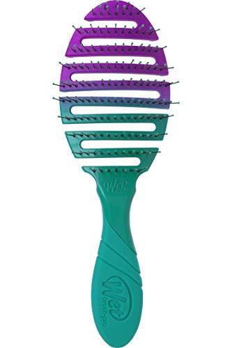 Wet Brush Pro Flex Dry Brush – Blaugrün Ombre von Unisex – 1 Stück Haarbürste