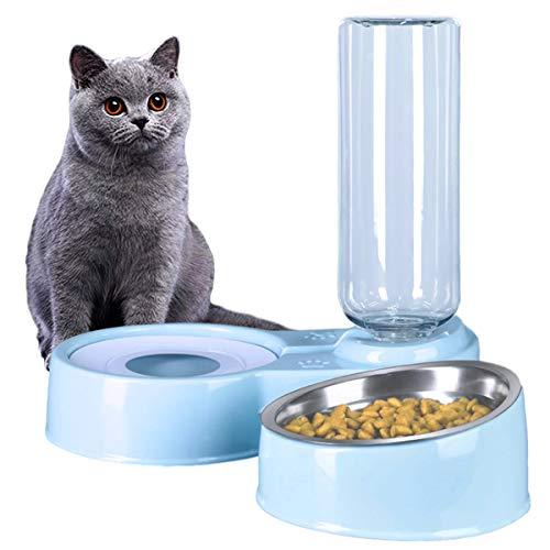 2 in 1 Comedero y Bebedero Automático para Gatos