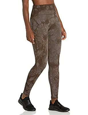 Betsey Johnson Women's High Rise 7/8 Length Seamless Legging, Seal, Medium