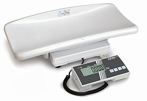 Babyweegschaal met ijk- en medische toelating [kern MBB 15K2DM] voor professioneel mobiel of stationair gebruik in de medische diagnostiek, weegbereik [max]: 6 kg/15 kg, afleesbaarheid [d]: 2 g/5 g