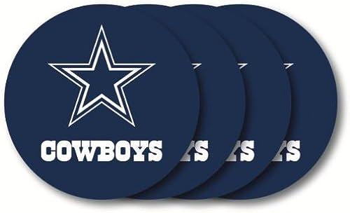 Dallas Cowgarçons NFL Coaster Set - 4 Pack by NFL