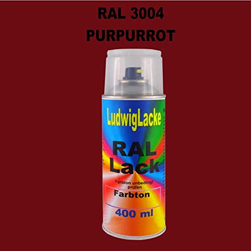 RAL 3004 Purpurrot Matt 400 ml 1K Spray