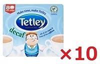 10袋まとめ買い テトリー紅茶(tetley) デカフェティーバッグ 80bags