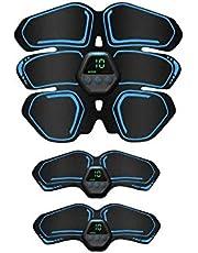 【2020最新版】EMS 腹筋ベルト 10種類モード 20段階強度 腹筋パッド USB充電式 液晶表示 脂肪燃焼 疲労解消 男女兼用 日本語説明書付き