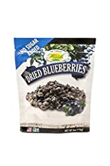 HIGH QUALITY BLUEBERRIES - Every bag is full of fresh, naturally sweet, dried blueberries with no added sugar. GREAT SNACKS - No sugar added, non GMO, gluten-free treats for the whole family! MIX AND MORE - A great add-on to your yogurt, oatmeal, sal...