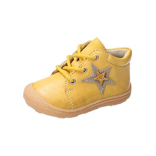 RICOSTA Unisex - Kinder Lauflern Schuhe Romy von Pepino, Weite: Mittel (WMS), leger schnürschuh schnürstiefelchen flexibel,Sonne,23 EU / 6 Child UK