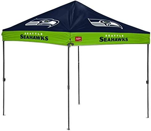 Rawlings NFL 10x10 Straight Leg Tailgate Canopy Seattle Seahawks 2231085111 product image