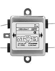 Filtro de potencia monofásico CW3-20A-T 115V/250V del supresor de ruido EMI