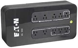 EATON 3S 550 VA Desktop UPS - 550 VA/330 Wdesktop 3 Minute Full Load - 4 x NEMA 5-15R - , 4 x NEMA 5-15R