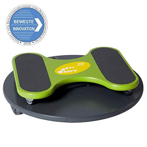 MFT Trim Disc - Profi Balance Board aus hochwertigem Holz inkl. Videokurs und Trainingsanleitung, rutschfestes Wackelbrett - Physiotherapie Qualität