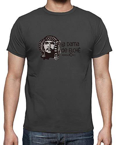 latostadora - Camiseta la Dama de Elch para Hombre
