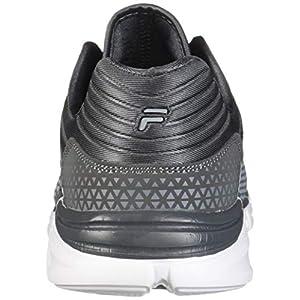 Fila Men's Memory MULTISWIFT 2 Running Shoe, Monument/Castlerock/White, 11 Medium US