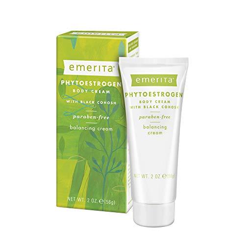Emerita Phytoestrogen Body Cream Paraben & Vegan Free, 2 oz