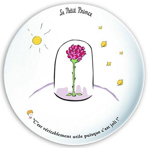 Assiette Plate Le Petit Prince Saint Exupery LA Rose
