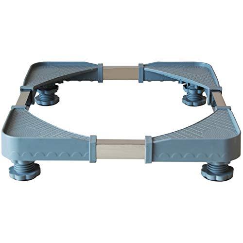 YAZUDU Base ajustable retráctil para la lavadora refrigeradora en el stent de la carga pesada duradera de 200 kg, previene el scratch Dent Reducción de ruido de la reducción del terremoto de la contra