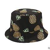 Panama Seau Chapeau Hommes Femmes Été Seau Casquette Banane Ananas Imprimé Chapeau Bob Chapeau Hip Hop Pêcheur Chapeau Style3 Livraison Gratuite