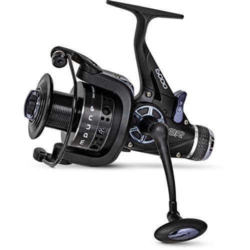 Zebco Qualits Impune BR 5000 - Mulinello per pesca alla carpa, con sistema a 5 cuscinetti a sfera, colore: Nero