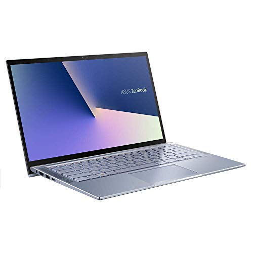 ASUS Computer ZenBook 14 UM431DA (90NB0PB3-M02570) 35,5 cm (14 Zoll, Full HD, IPS-Level, matt) Ultrabook (AMD R5-3500U, AMD Radeon RX Vega 8 Graphics , 8GB RAM, 512GB SSD, Windows 10) Silver Blue