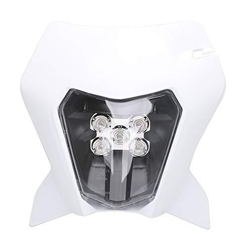 Phare de phare LED de moto pour K.T.M. EXC EXCF SX SXF XC XCF XCW XCFW 125 150 250 300 350 400 450 505 525 530 (Blanc)