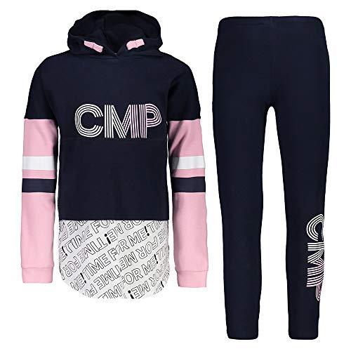 CMP Ensemble de survêtement 2 pièces pour fille avec pull et leggings (128)