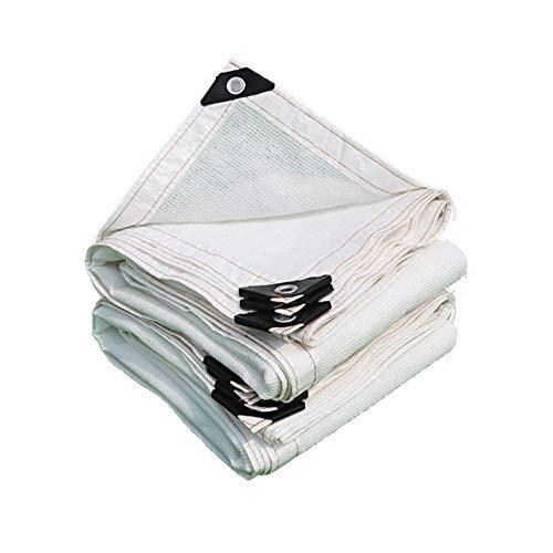 CNMZ Outdoor Awnings for Car Pool Shade Sail Portable Sunshade Cloth Garden Sunshade Net White Sun Shade Net Sun Shade Canopy,M(1x2m)