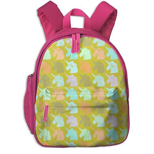 Zaino per bambini 2 anni,Salvar A Los Unicornios 1200_5413-lisabarbero,For children's schools Oxford cloth (pink)