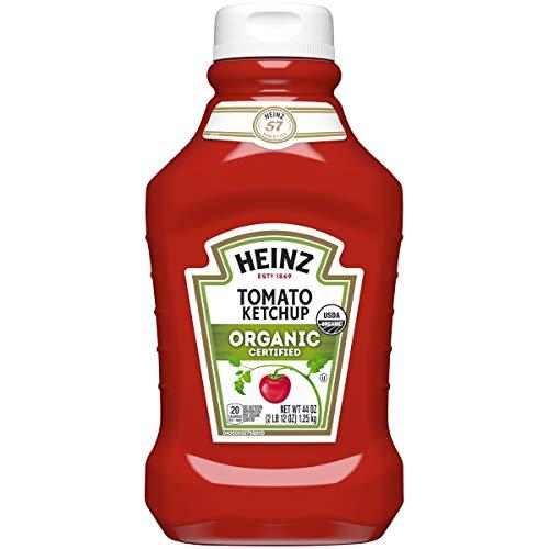 Heinz Organic Tomato Ketchup, 44 oz Bottle - 1,25 Kg