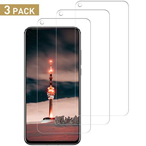 SNUNGPHIR [3 Stück] Panzerglas für Huawei Honor View 20 Schutzfolie, 9H Festigkeit, Anti-Kratzen, Anti-Öl, Anti-Bläschen, Anti-Fingerabdruck HD Klar Panzerglasfolie Bildschirmschutzfolie für Honor View 20