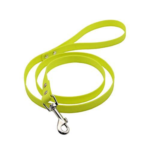 Correas para Perros Correa Impermeable para Perros Material de PVC Correas para Mascotas duraderas Fácil de Limpiar Cuerda de tracción para Perros Correas para Mascotas para Perros pequeños, Mediano
