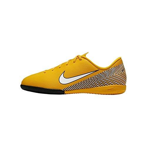 Nike Unisex-Kinder Jr. Vapor XII Academy Neymar IC Futsalschuhe, Mehrfarbig (Amarillo/White/Black 710), 38 EU