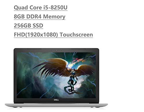 Dell Inspiron 15 5000 5570 15.6 Full HD Touchscreen (1920x1080) Laptop (Intel Quad-Core i5-8250U, 8GB DDR4, 256GB SSD) Backlit, HDMI, 802.11 AC WiFi, Windows 10 64-bit (Renewed)