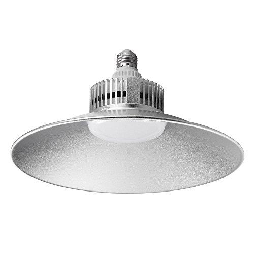 Lámpara Industrial LED 70W High Bright Foco Reflector LED 7000 Lúmenes 6000K Blanco Frío para Interior Comercial/Industrial Iluminación, Planta Fabrica, Almacén