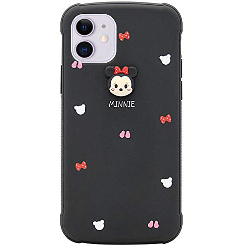 MC Fashion iPhone 11 Case, Cute Cartoon Case with Reinforced Corner Protection, Slim Fit Full-Body Soft TPU Case for Apple iPhone 11 6.1 inch 2019 (Minnie Mouse)