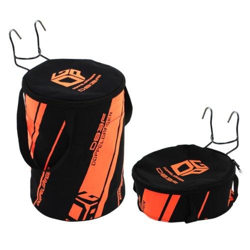 DOPPELGANGER フロントバッグ 2WAYドラムバッグ 折りたたみ収納可能 軽量400g [折りたたみ自転車取付用フッ...