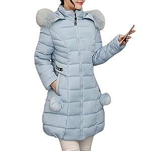 Beladla abrigo Mujer Invierno Plumas Abrigo De Plumas para Mujer Largas Chaqueta De Esquí Parka: Amazon.es: Ropa y accesorios