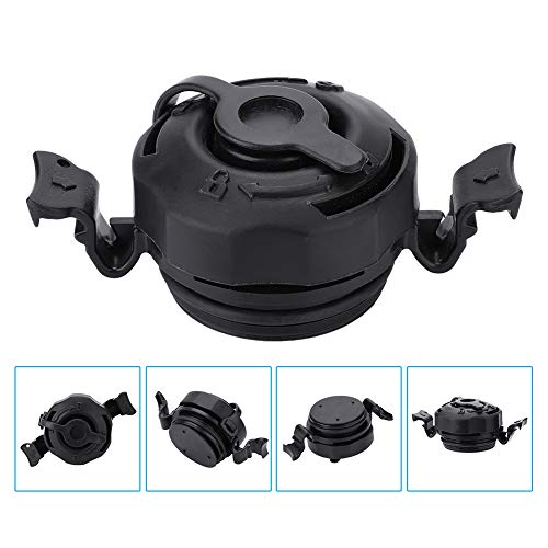 Air Valve - Delaman 3 in 1 Inflatable Air Valve Secure Seal Cap Air Valve Caps Plugs Replacement for Intex Inflatable Airbed Mattress, Black