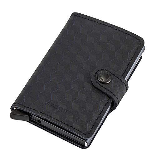 [ セクリッド シークリッド ] Secrid ミニウォレット Mini Wallet 財布 レザー オプティカル ブラックチタニウム Optical Black-Titanium 87182152882