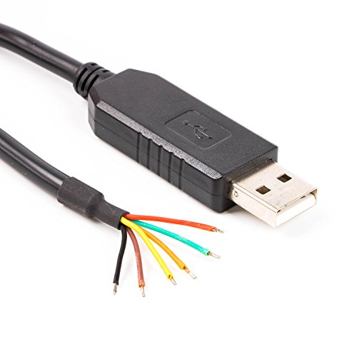 USB-TTL SER Konverterkabel, 5 V, Kabelende, TTL-232R-5V-WE