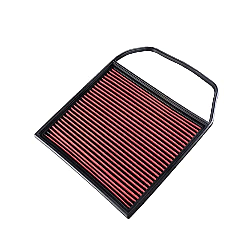XIAOHUI HUIHUI Store El Filtro de Aire de Alto Flujo R-EP se Adapta a un Ajuste Reutilizable Lavable para BMW E82 E88 E89 135I E91 E90 E92 E93 335I OEM 13717556961 Panel de reemplazo