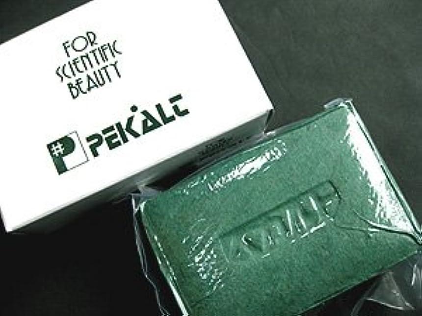 真面目な半島対応するペカルト石鹸 120g (海藻エキス 葉緑素配合) 無香料
